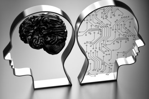 Artificial intelligence (AI) against the human brain